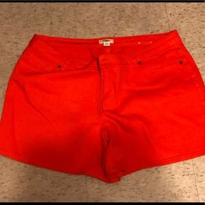 Cato's Plus size Orange shorts